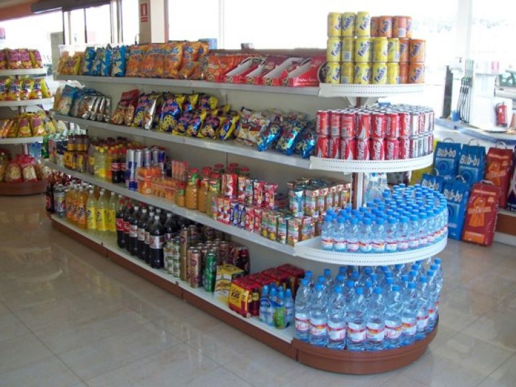 Portella equipaments supermercado equipamiento for La gondola muebles