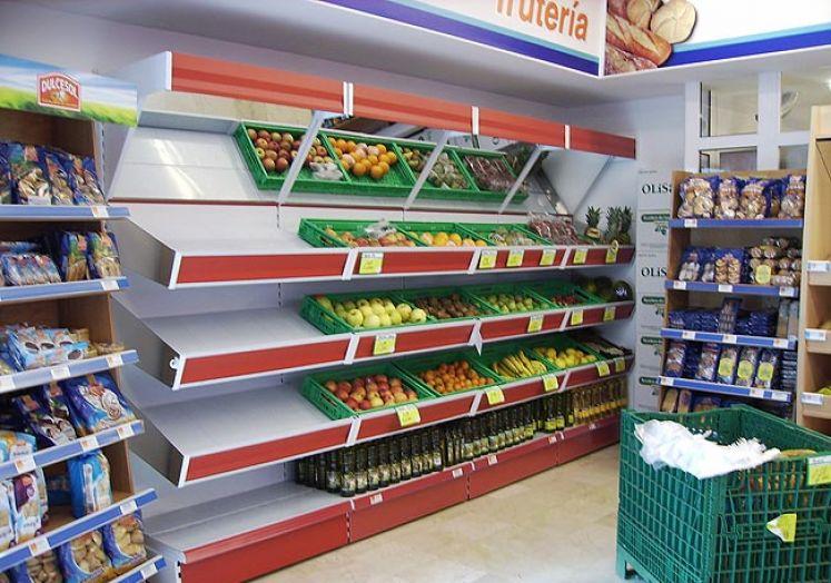 Portella equipaments fruteria equipamiento integral - Estanterias para fruta ...