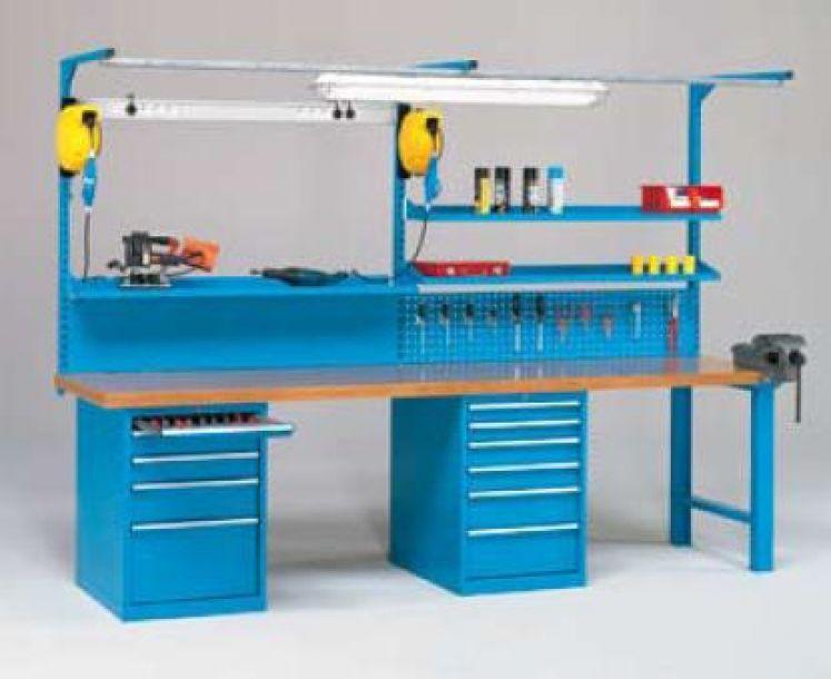 Portella equipaments mesas de trabajo equipamiento for Mesas de trabajo para taller