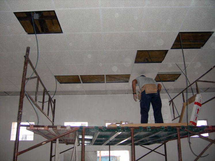 Portella equipaments falso techo equipamiento integral - Falso techo registrable ...